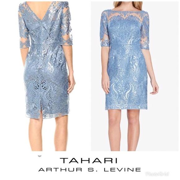 9da465a00de2 Tahari Dresses | Navy Sheath Dress | Poshmark